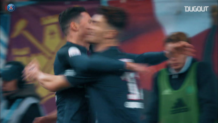 Paris Saint-Germain 20 games unbeaten vs OM