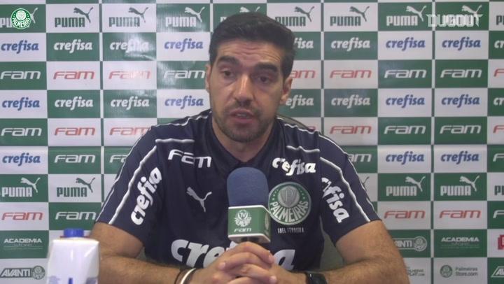 Abel Ferreira fala do sistema defensivo do Palmeiras
