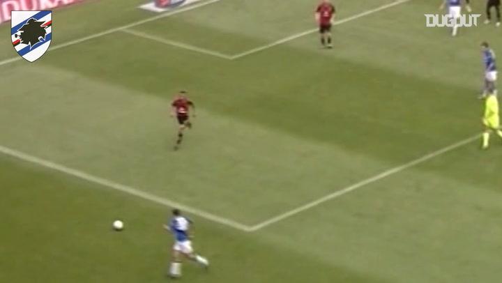 Bonazzoli's volley against Milan