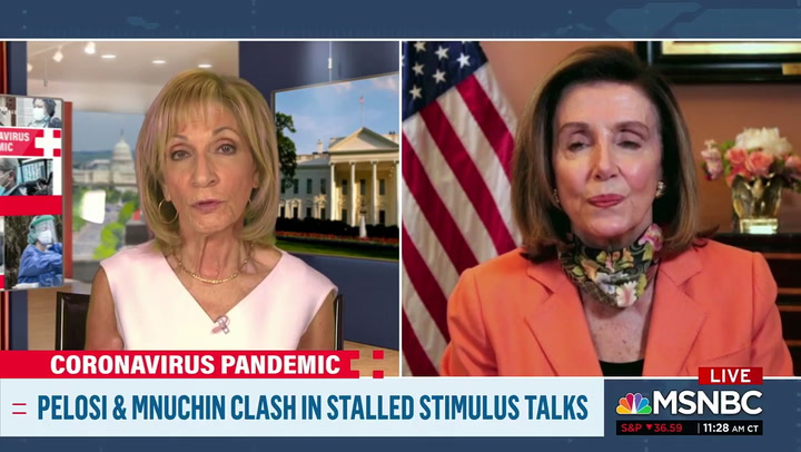 Pelosi: Trump 'Has Failed Miserably in Responding to This Virus'