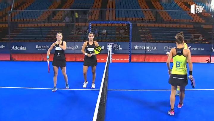 Resumen cuartos de final femeninos (primer turno) Estrella Damm Menorca Open