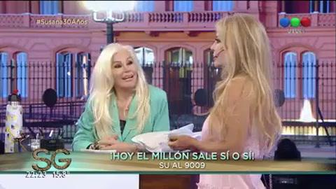 Graciela Alfano reapareció en la televisión y habló de su romance con Mauricio Macri