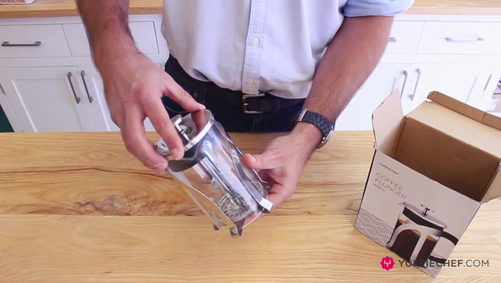 Preview image of Unboxing the Yuppiechef Coffee Plunger.mp4 video