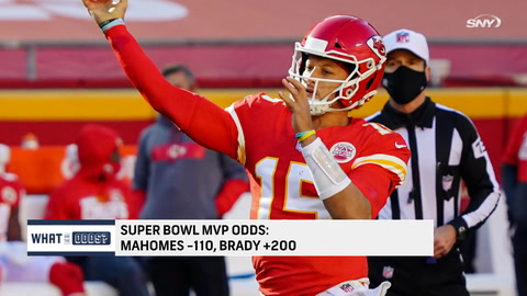 What are the odds on Super Bowl MVP?