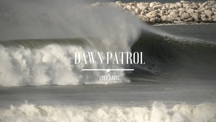 Luke Davis' sentiment on the struggles of dawn patrol is unflinching and to the point. Like the man himself. Raised in Capistrano Beach as a high-profile up and comer and now residing in Los Angeles and embracing the city's diversity and eclecticism, Davis lets his surfing and dance moves do the talking. We met up this summer for a quiet surf on a pitifully-unsurfable morning at a Los Angeles beach break to chat about that fragile slice of time where a human (surfer) either hits snooze and keeps comatose or jolts out of bed to seize the day, and Mr. Davis left us with a dash of nuance on the matter. Of course, Luke also managed to make the flat ocean surfable, but it didn't quite fit his template for dawn patrol expeditions.