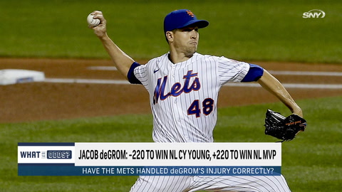 Are Mets handling Jacob deGrom's injury situation the right way?