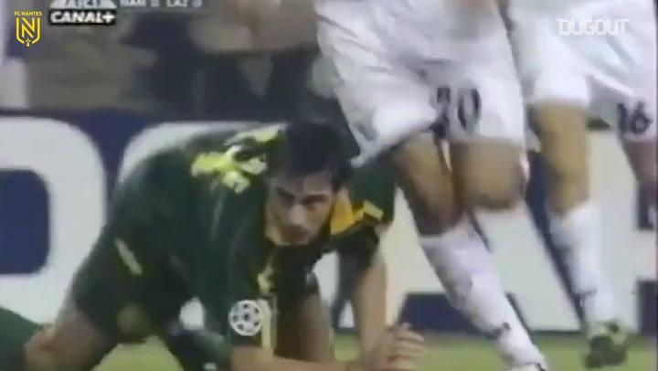 Da Rocha's wonderful header vs Lazio