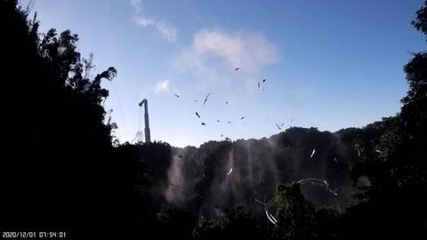 Colapsa el histórico telescopio de Arecibo en Puerto Rico