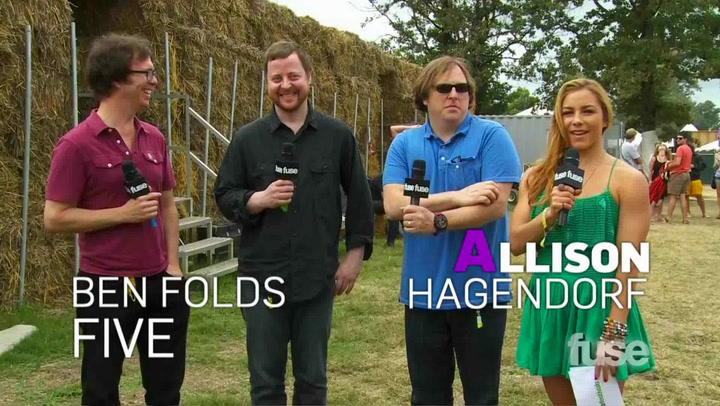 Festivals: Bonnaroo: Ben Folds Five Interview