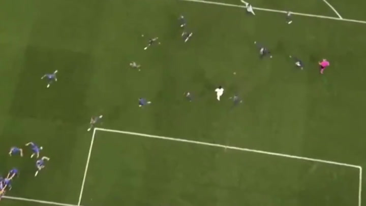 Euro 2020: Aerial view of Saka's shot shows loneliness of missing a penalty