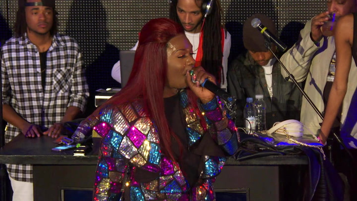 "Big Freedia Performs ""Gin In My System"" At Her Birthday Bash"