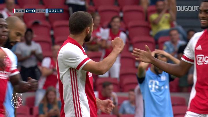 Labyad's incredible free-kicks in hat-trick vs Utrecht