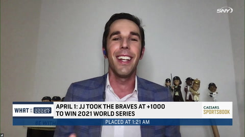 Can SNY personality John Jastremski win a +1000 bet on the Braves? | What Are The Odds?