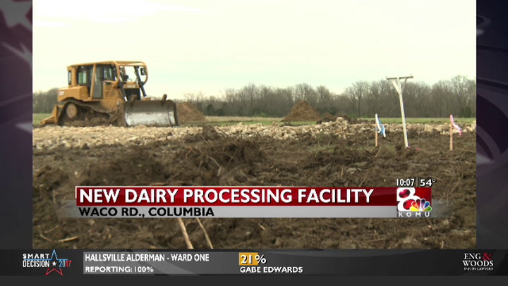 Colorado dairy company to build processing facility in Columbia