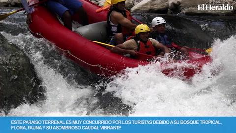 Rafting, una aventura extrema a practicar en el río Cangrejal