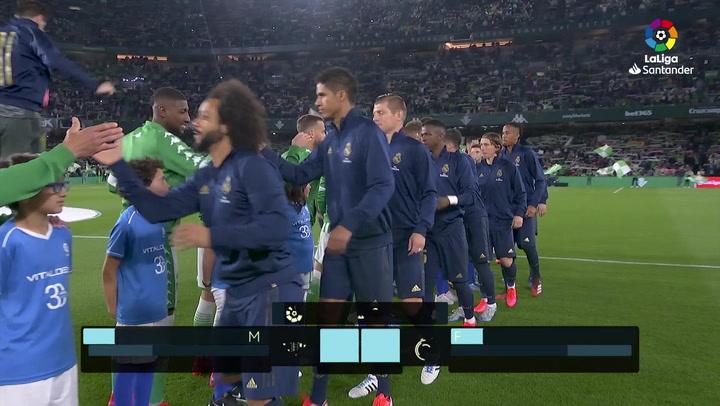 LaLiga Santander (J27): Resumen y goles del Betis 2-1 Real Madrid