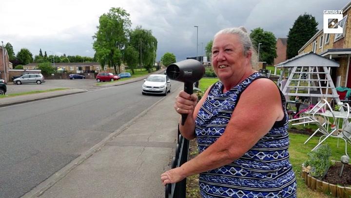 Genial bestemor fikk bukt med råkjøringen