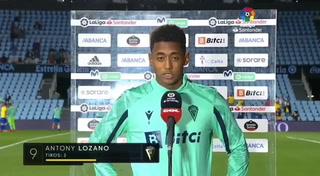 Choco Lozano ya piensa en el Barcelona tras su partidazo contra Celta: