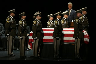Former Metropolitan Police Department Capt. Larry Burns remembered at funeral service