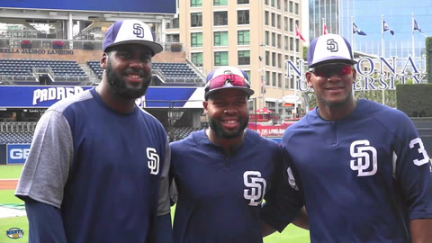 Franmil Reyes reflects on his 2018 rookie season