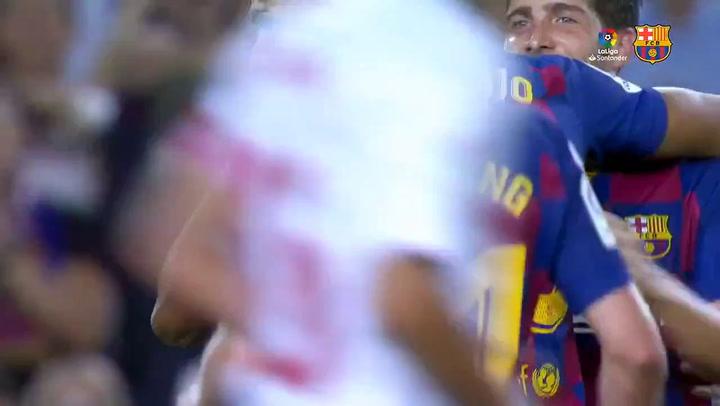 Messi, a un gol de los 700, atemoriza al Sevilla
