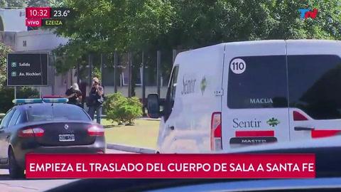 El cuerpo de Sala llega a Argentina para funeral y homenajes