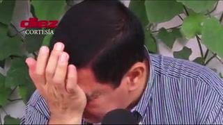 Américo Navarrete rompe en llanto al recordar el momento de su despido