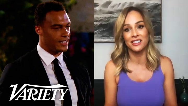 Clare Crawley on the first episode of 'The Bachelorette'