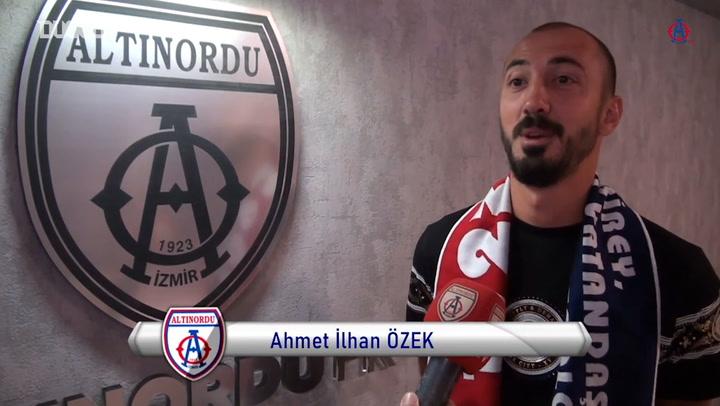 Ahmet İlhan Özek, Altınordu'da