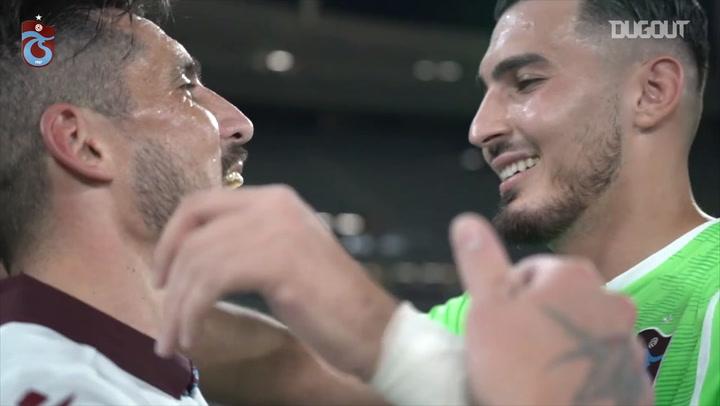 Trabzonspor Türkiye Kupası'nı Taraftarlarına Armağan Etti