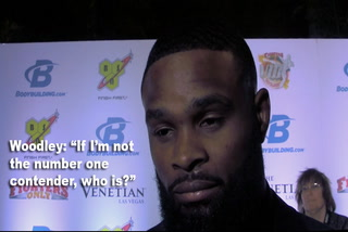 """UFC welterweight Tyron Woodley: """"If I'm not the #1 contender, who is?"""""""