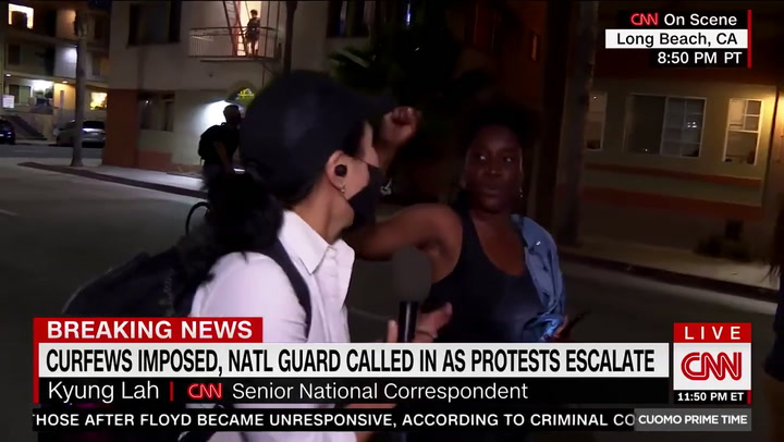 Protester Unleashes F-bomb Tirade Live on CNN -- 'No One Gives a F--k About Us Unless We Get Violent'