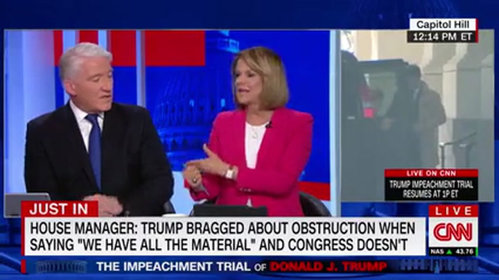 CNN's Tapper: GOP Senators Creating 'Alternate Reality' to Defend Trump
