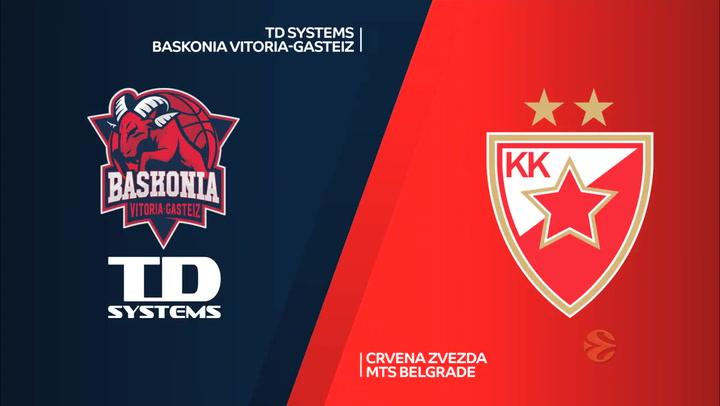 Euroliga: TD Systems Baskonia - Estrella Roja (87 - 67)