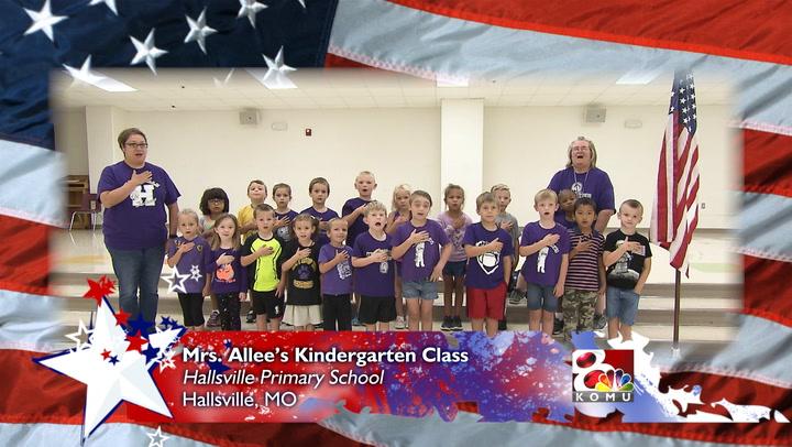 Hallsville Primary School - Mrs. Allee's Kindergarten Class