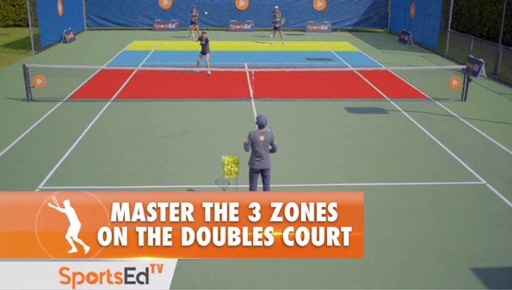 Master the 3 ZONES On The Doubles Court