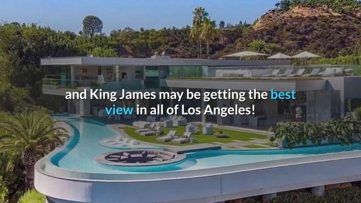 Así es la nueva casa en Los Angeles de LeBron James