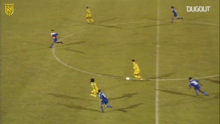 Nantes secure 1994-95 title vs Bastia