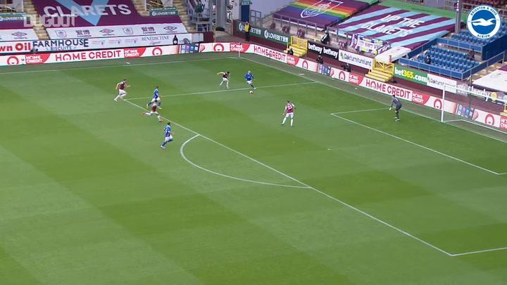 Aaron Connolly's individual goal vs Burnley