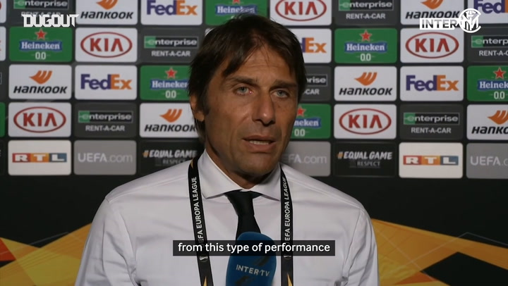 Antonio Conte delighted with Shakhtar performance