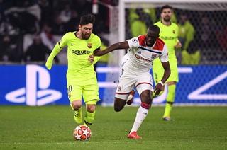 Barcelona y Messi no pudieron en Francia ante el Lyon y dejan todo para la vuelta