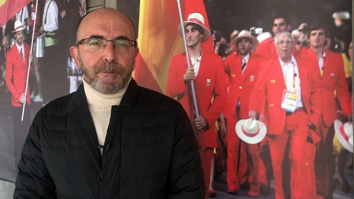 Pedro Pablo Barrios, nuevo presidente de la Federación Española de Piragüismo