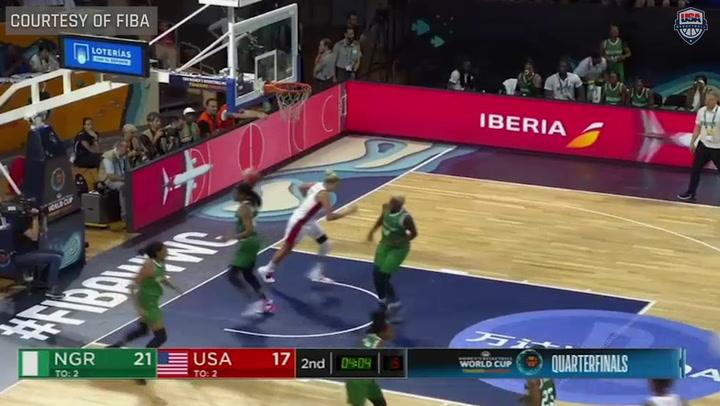 USA WOMEN's WORLD CUP TEAM VS NIGERIA HIGHLIGHTS