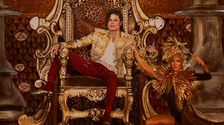 Her står Michael Jackson på scenen igjen
