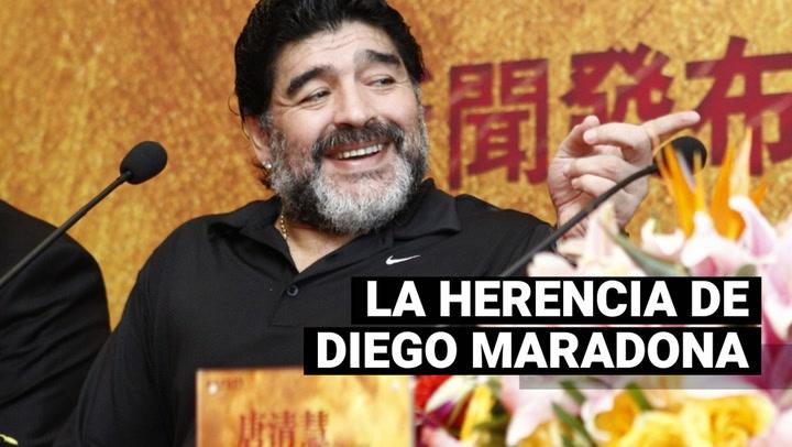 ¿Hijos de Maradona accederán a la herencia del 10 argentino?