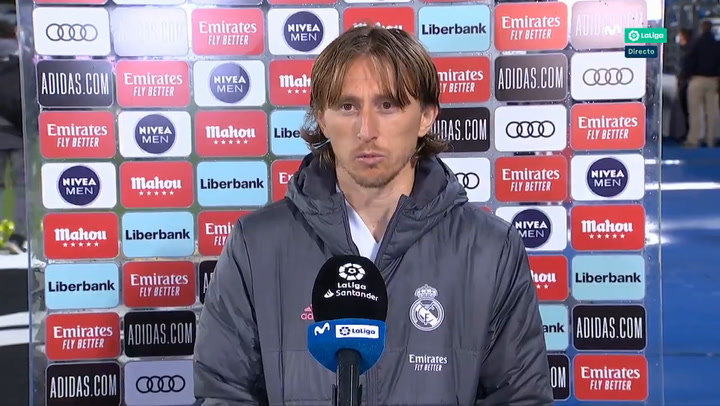 """Modric: """"Tenemos que tener fe"""""""