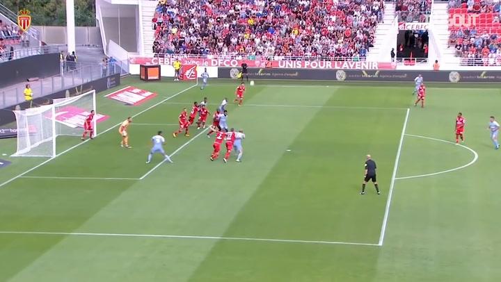 Radamel Falcao's hat-trick help Monaco sink Dijon