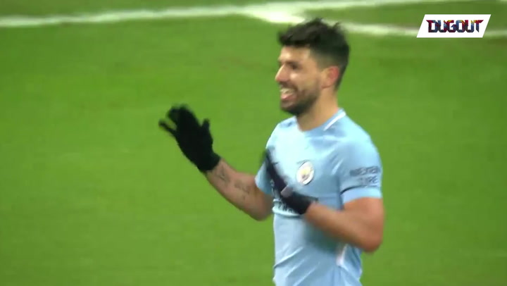 Every touch from Sergio Agüero v Newcastle ⚽️