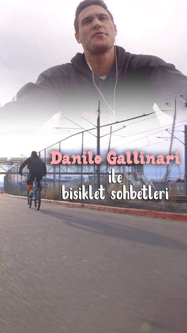 Danilo Gallinari ile bisiklet sohbeti