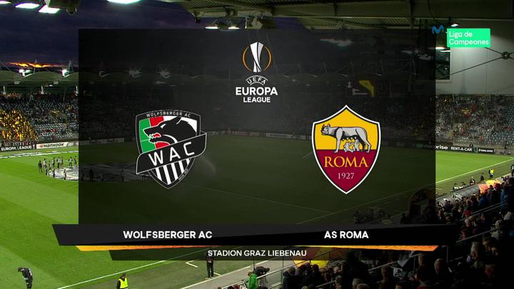 Europa League: Resumen y Goles del Partido Wolfsberg-Roma